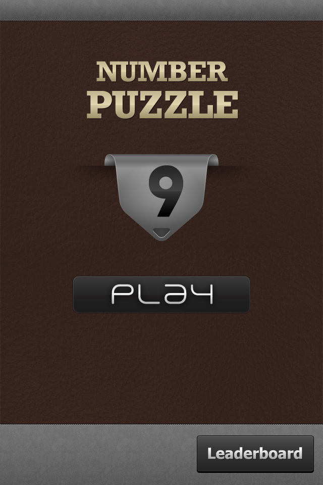 Screenshot NumberPuzzle